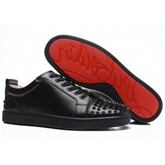 Louboutin Louis Junior Spikes Men's Flat
