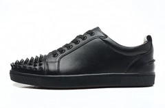 Louboutin Louis Junior Spikes Men's Flat - GVimport