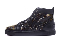 Louboutin Louis Spikes Orlato Men's Flat - GVimport