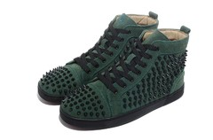 Imagem do Louboutin Louis Spikes Men's Flat