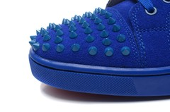 Louboutin Louis Junior Spikes Men's Flat - loja online
