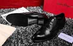 Sapato Ferragamo Plain toe oxford