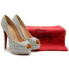 Pump Louboutin New Very Riche Strass salto 14cm - comprar online