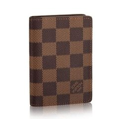 Carteira Louis Vuitton SLIM Damier Ébene