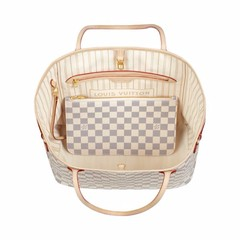Bolsa Louis Vuitton NEVERFULL Damier Azur MM - comprar online