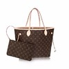 Bolsa Louis Vuitton NEVERFULL canvas Monogram MM