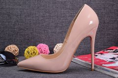 Pump Louboutin Decollete Nude 120 mm 826 - GVimport