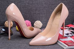 Pump Louboutin Decollete Nude 120 mm 826 - loja online