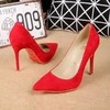 Pump Louboutin Decoltish Veau Velours 10cm - 248 - GVimport