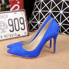 Pump Louboutin Decoltish Veau Velours 10cm - 249 - GVimport