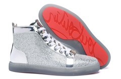 Imagem do Louis Woman Flat Nappa Laminato/Strass Louboutin