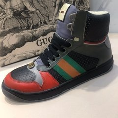 Tênis Gucci Screener GG high-top