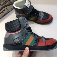 Tênis Gucci Screener GG high-top na internet