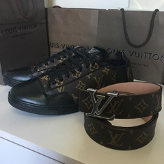 Tênis Louis Vuitton Monogram na internet