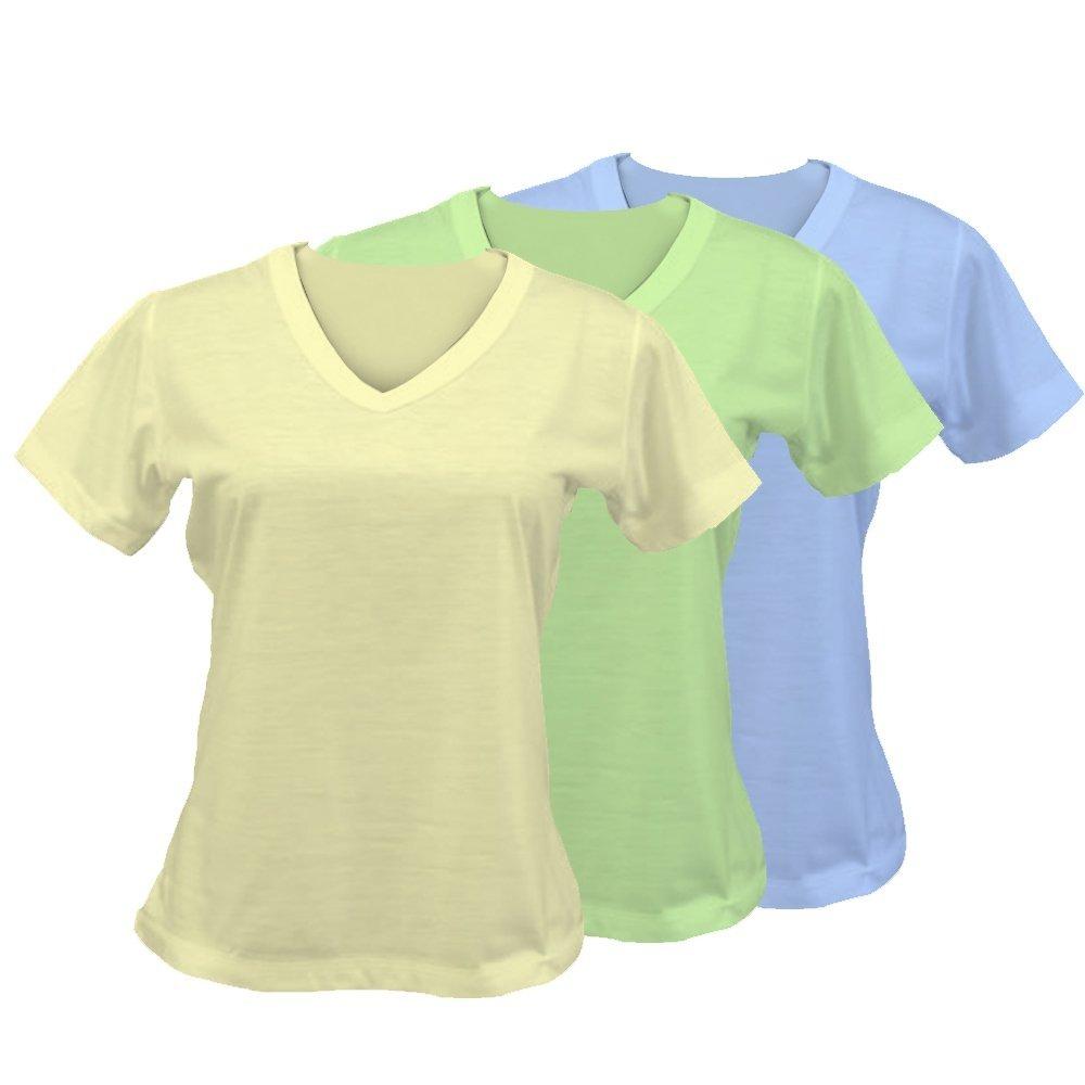 764ced332 Camiseta Feminina - Baby Look colorida - EML Digital