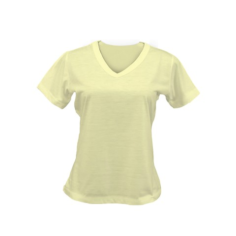 Camiseta Feminina - Baby Look colorida