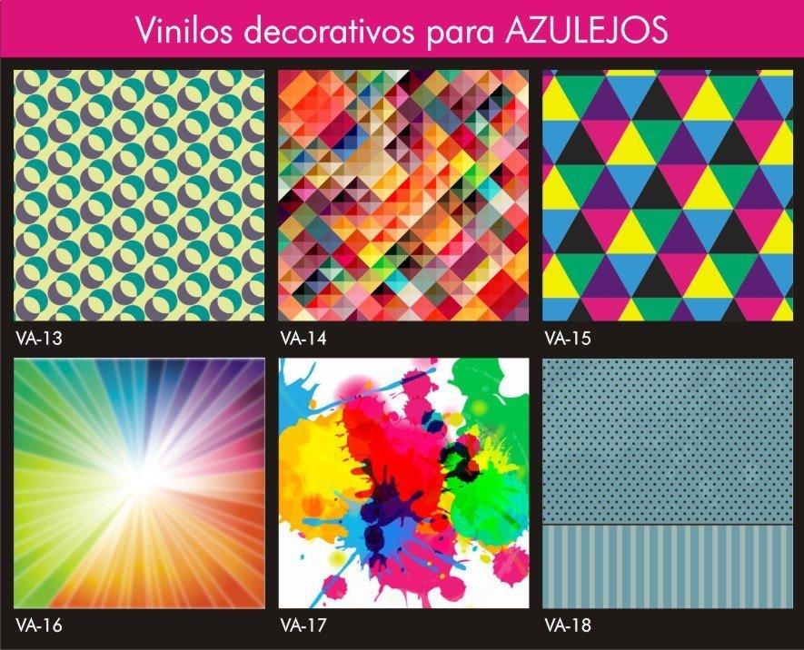 Vinilo autoadhesivo azulejo x 15 auryn deco - Vinilos infantiles para cristales ...