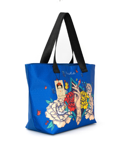 CARTERA SHOPPING FKN-SHOP (Blue/Blue) - comprar online