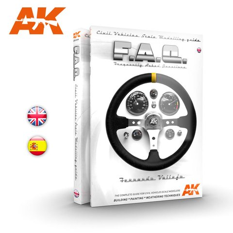 FAQ Civil Vehicles Inglês AK Interactive - PRÉ-VENDA