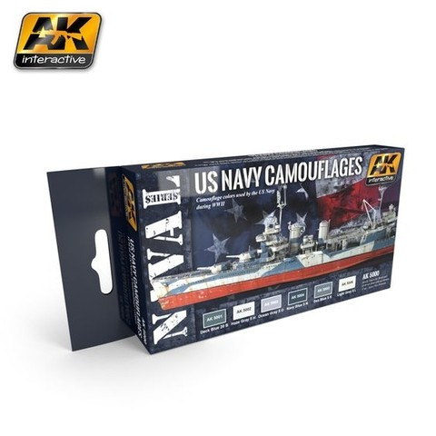 US NAVY CAMOUFLAGES AK Interactive