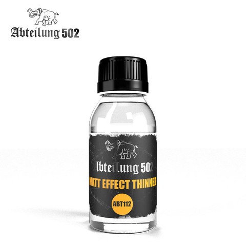 Matt Effect Thinner Abteilung502 - Pré-venda