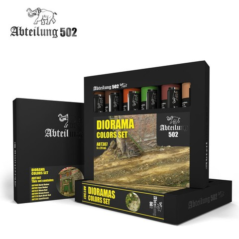 Diorama Colors Set Abteilung502