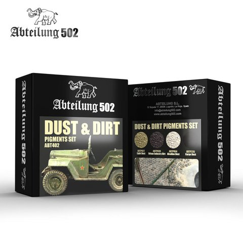 Dust & Dirt Pigment Set Abteilung502 - PRÉ-VENDA