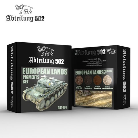 European Lands Pigment Set Abteilung502