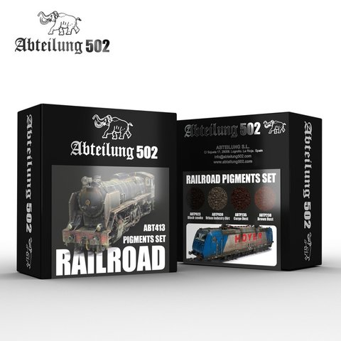 Railroad Pigments Set Abteilung502 - Pré-venda