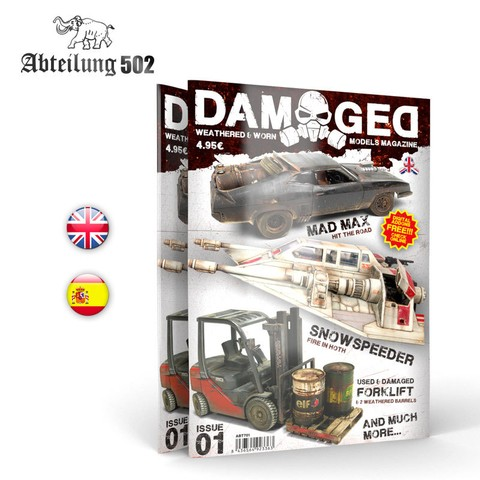 Damaged Magazine 01 Abteilung502 - Pré-venda