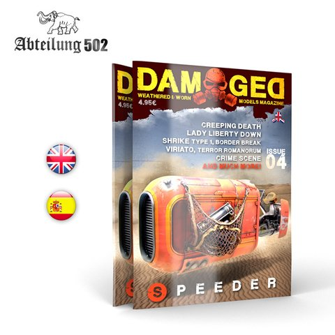 Damaged Magazine 04 Abteilung502 - Pré-venda