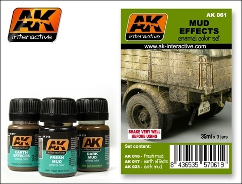 Mud Effects Set AK Interactive - Pré-venda