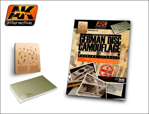 German Camo Disc Set 1/48 AK Interactive - Pré-venda