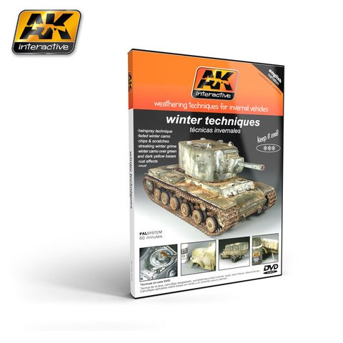 DVD Winter Weathering AK Interactive - Pré-venda