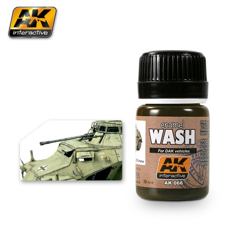 Wash for DAK Vehicles - AK Interactive - Pré-venda