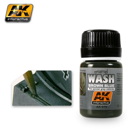 Wash for Panzer Grey Vehicles - AK Interactive - Pré-venda
