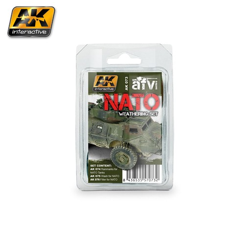NATO Weathering Set AK Interactive - Pré-venda