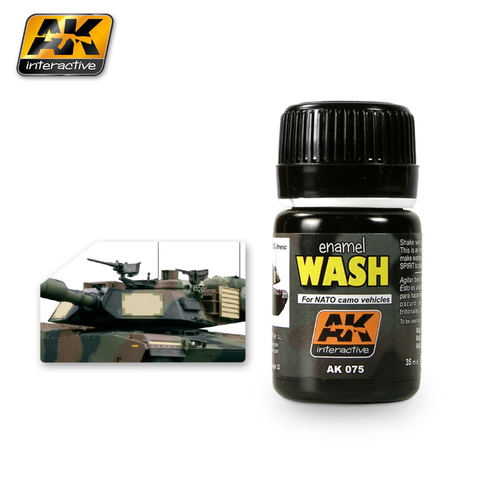 Wash for NATO Camo Vehicles AK Interactive - Pré Venda