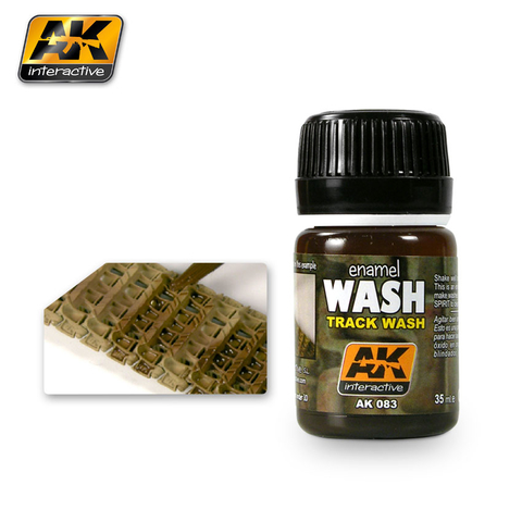 Track Wash - AK Interactive