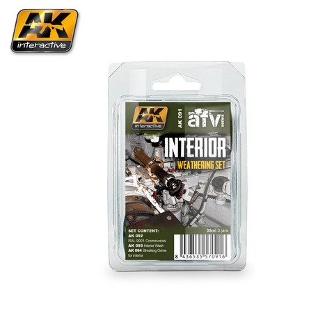Interior Weathering Set AK Interactive