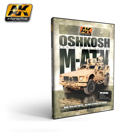 DVD M-ATV Photo Walkaround AK Interactive - Pré-venda