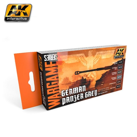 German Panzer Grey Set AK Interactive - Pré-venda
