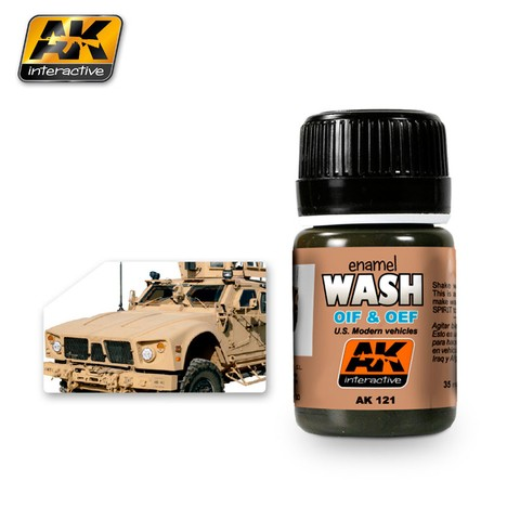 Wash for OIF/OEF Vehicles AK Interactive - Pré Venda