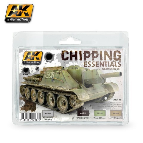 Chipping Essentials AK Interactive - Pré-venda