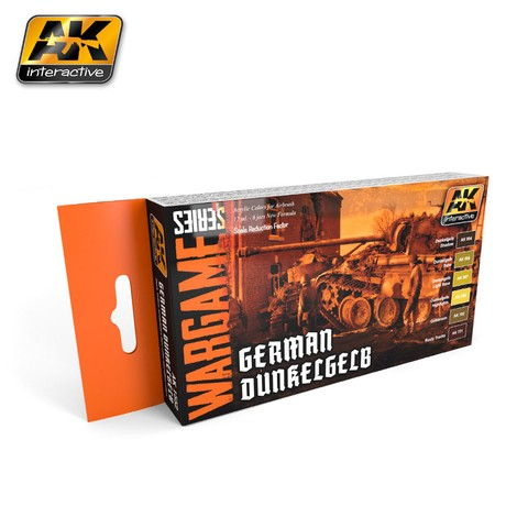 German Dunkelgelb Set AK Interactive - Pré-venda