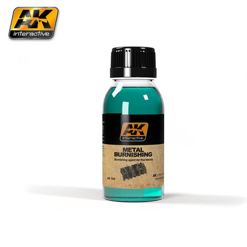 Metal Burnishing Fluid AK Interactive