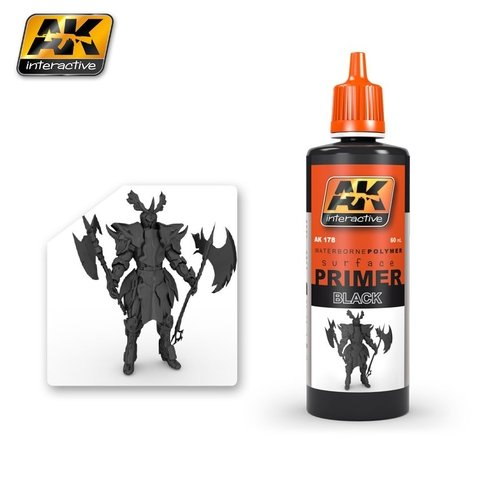 Primer Black 60ml AK Interactive