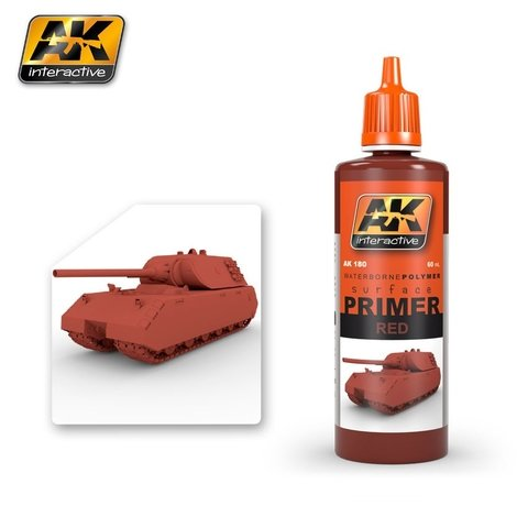 Primer Red 60ml AK Interactive - Pré-venda