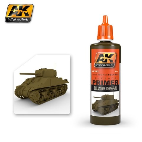 Primer Olive Drab 60ml AK Interactive