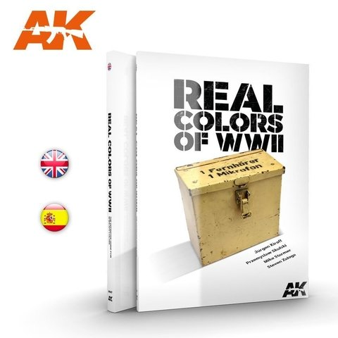 Real Colors of WW2 Inglês AK Interactive - Pré-venda